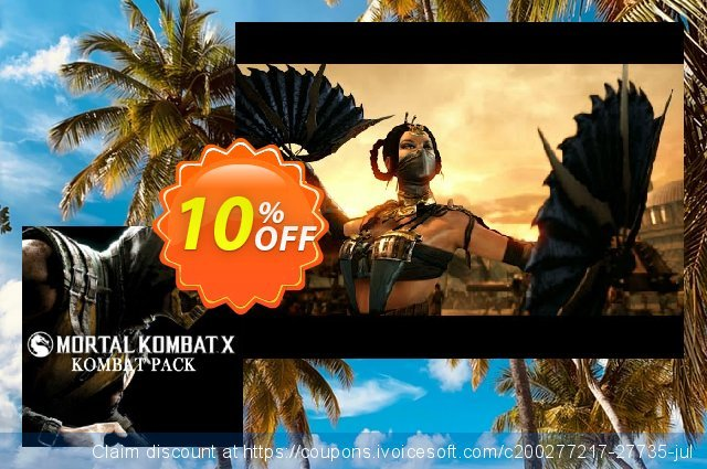 Mortal Kombat X Kombat Pack PC discount 10% OFF, 2020 Xmas offering sales