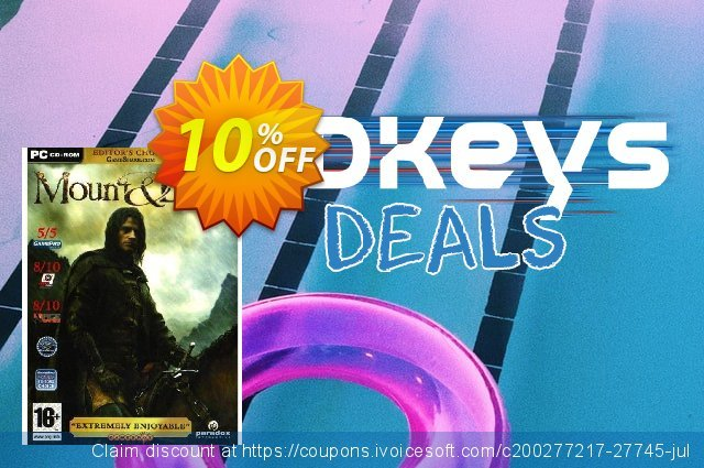 Mount & Blade (PC) discount 10% OFF, 2020 Thanksgiving offering discount