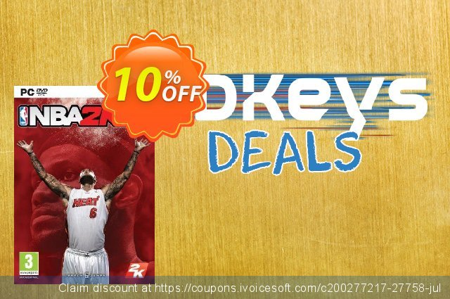 NBA 2K14 PC discount 10% OFF, 2020 End year promotions