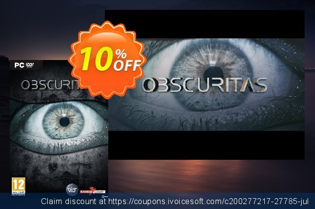Obscuritas PC discount 10% OFF, 2020 Thanksgiving Day offering deals