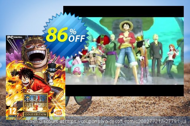 One Piece Pirate Warriors 3 Gold Edition PC  훌륭하   프로모션  스크린 샷