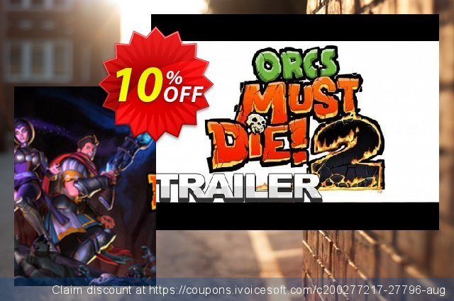 Orcs Must Die! 2 PC discount 10% OFF, 2020 Thanksgiving discounts