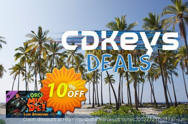Orcs Must Die! Lost Adventures PC discount 10% OFF, 2020 Thanksgiving Day promotions