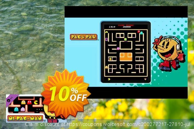 PACMAN MUSEUM Ms. PACMAN DLC PC discount 10% OFF, 2021 New Year's Weekend offer