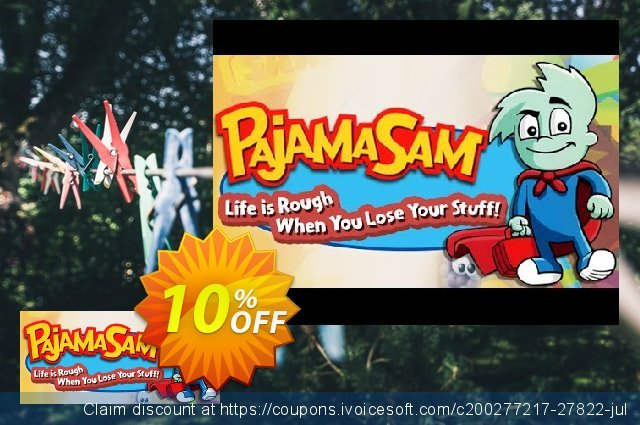Pajama Sam 4 Life Is Rough When You Lose Your Stuff! PC  위대하   프로모션  스크린 샷