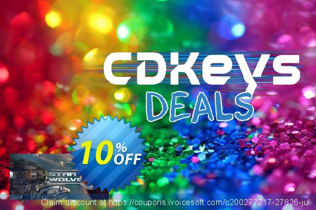 Star Wolves PC discount 10% OFF, 2020 College Student deals promo sales