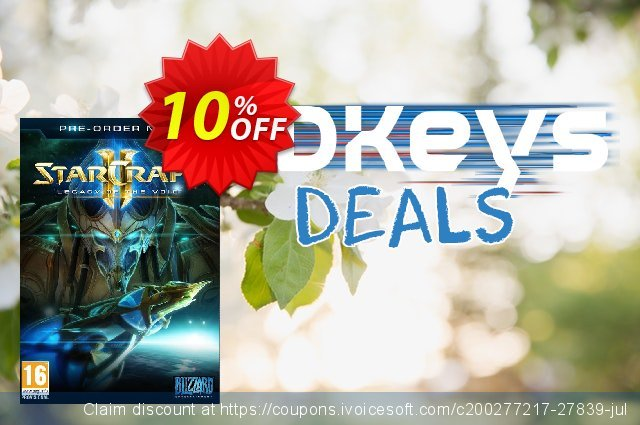 Starcraft 2: Legacy Of The Void + BETA Access PC/Mac discount 10% OFF, 2020 Exclusive Student deals deals