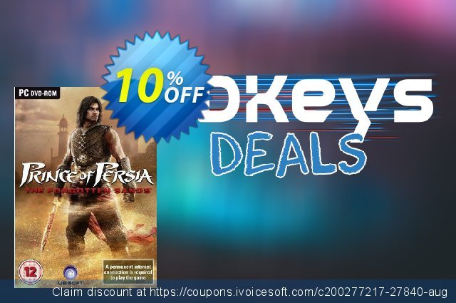 Prince of Persia: The Forgotten Sands (PC)  특별한   프로모션  스크린 샷