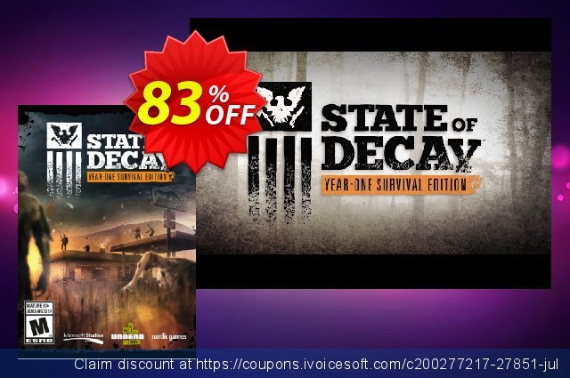 State of Decay Year One Survival Edition PC  놀라운   할인  스크린 샷