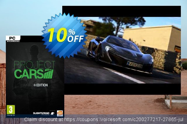 Project CARS Limited Edition PC  놀라운   세일  스크린 샷