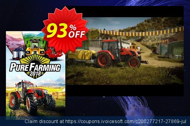 Pure Farming 2018 PC + DLC discount 90% OFF, 2020 College Student deals offering sales