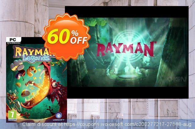 Rayman Legends PC discount 62% OFF, 2020 Black Friday offering sales