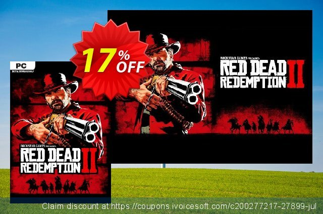 Red Dead Redemption 2 PC + DLC discount 17% OFF, 2020 Halloween offering sales
