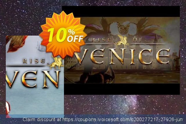 Rise of Venice PC discount 10% OFF, 2020 Thanksgiving Day offering sales
