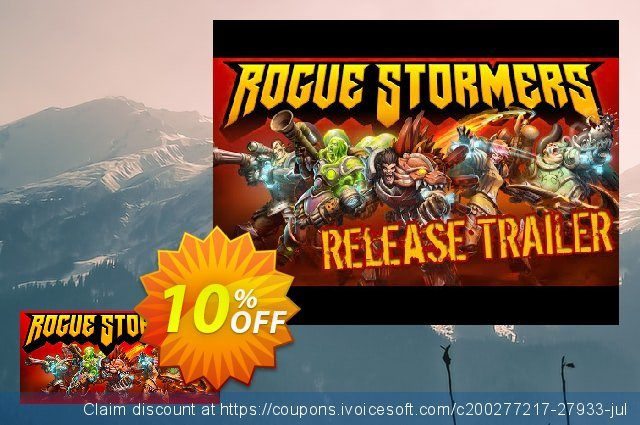 Rogue Stormers PC discount 10% OFF, 2020 Black Friday offer