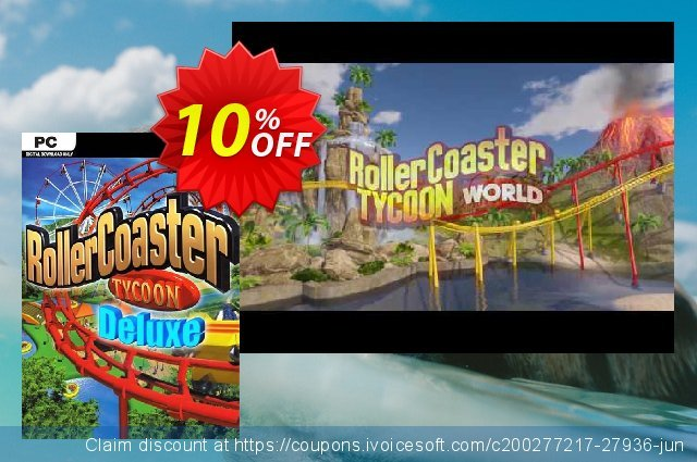 RollerCoaster Tycoon Deluxe PC  신기한   프로모션  스크린 샷
