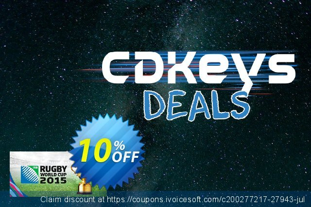Rugby World Cup 2015 PC discount 10% OFF, 2020 Thanksgiving offering sales