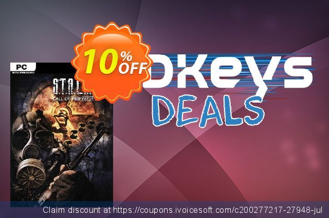 S.T.A.L.K.E.R. Call of Pripyat PC discount 10% OFF, 2021 January promo sales