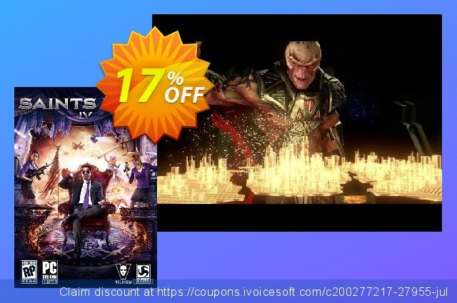 Saints Row IV 4 PC discount 10% OFF, 2020 Thanksgiving offering sales
