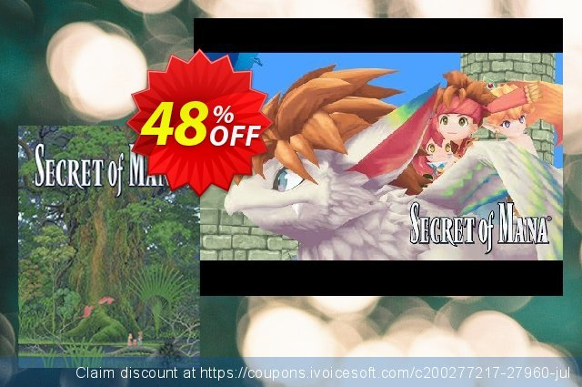 Secret of Mana PC discount 41% OFF, 2020 Back-to-School promotions promo sales