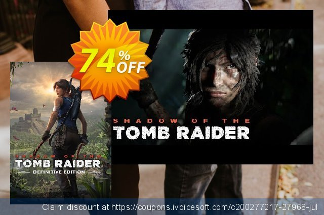 Shadow of the Tomb Raider - Definitive Edition PC 可怕的 产品销售 软件截图
