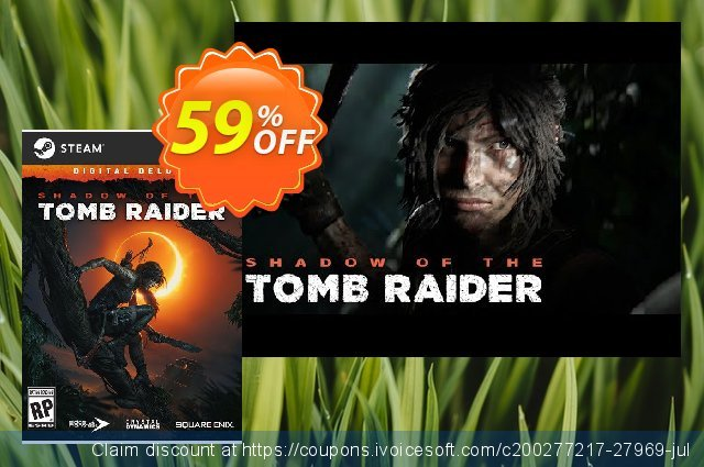 Shadow of the Tomb Raider Deluxe Edition PC + DLC discount 10% OFF, 2020 University Student offer discounts
