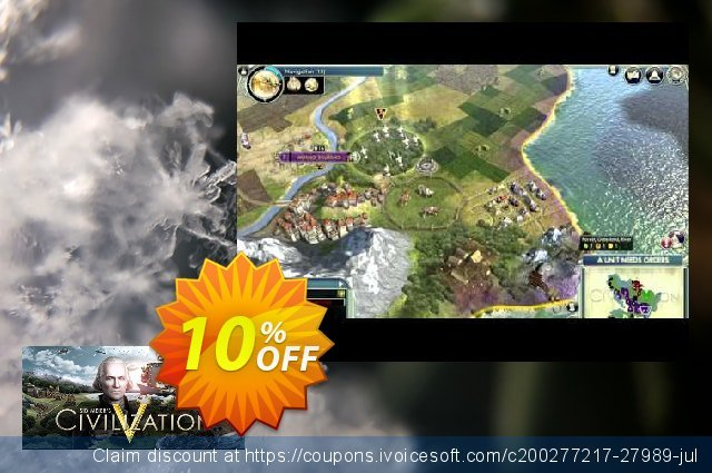 Sid Meier's Civilization V PC discount 10% OFF, 2020 Thanksgiving Day deals