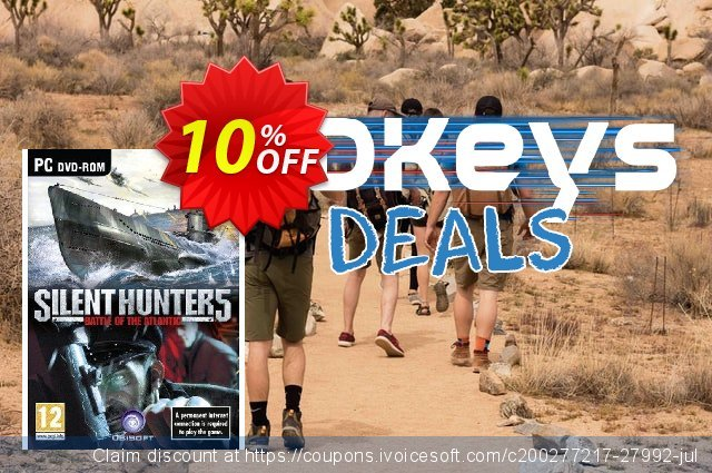 Silent Hunter 5 (PC) discount 10% OFF, 2020 Thanksgiving Day offering discount