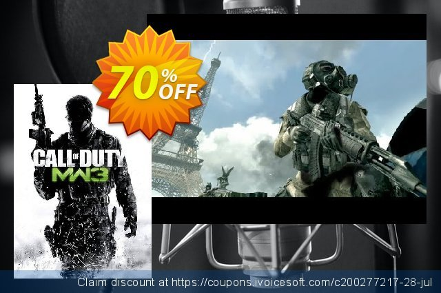 Call of Duty: Modern Warfare 3 (PC) discount 36% OFF, 2021 Mother Day promo. Call of Duty: Modern Warfare 3 (PC) Deal