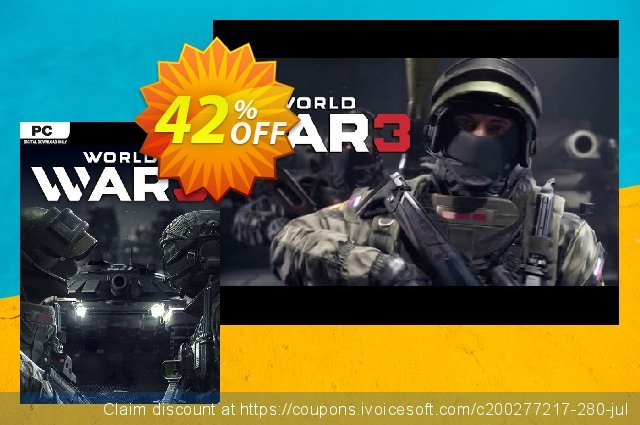 World War 3 PC discount 60% OFF, 2021 Spring offering sales