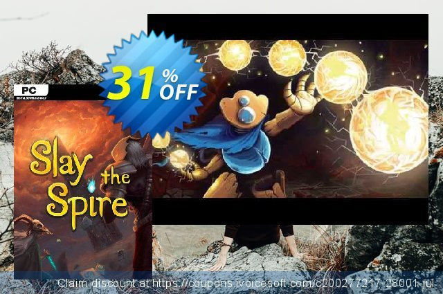 Slay The Spire PC discount 36% OFF, 2020 End year offering sales