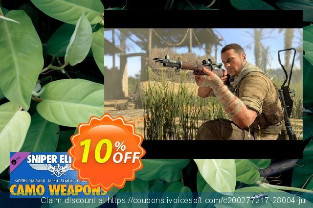 Sniper Elite 3 Camouflage Weapons Pack PC  대단하   세일  스크린 샷