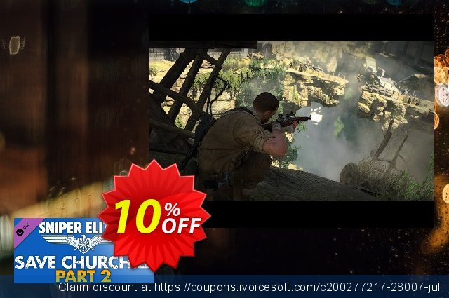 Sniper Elite 3 Save Churchill Part 2 Belly of the Beast PC  특별한   프로모션  스크린 샷