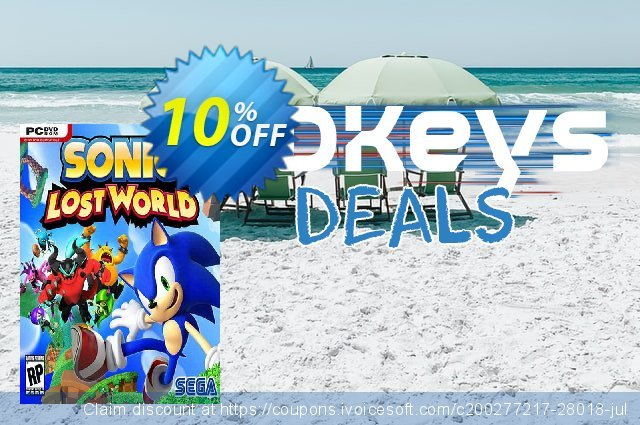 Sonic Lost World PC discount 10% OFF, 2020 Thanksgiving offering sales