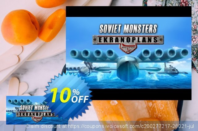 Soviet Monsters Ekranoplans PC discount 10% OFF, 2020 Thanksgiving offering sales