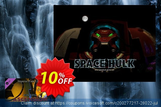 Space Hulk Ascension Imperial Fist PC discount 10% OFF, 2020 Halloween offering sales