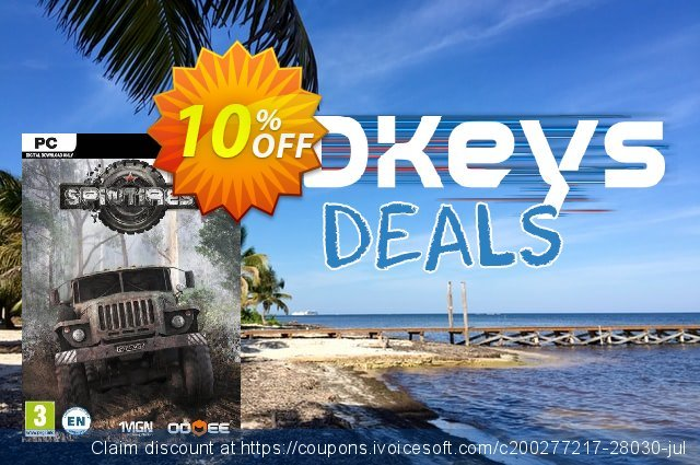 Spintires The Original Game PC discount 10% OFF, 2020 Thanksgiving offering discount