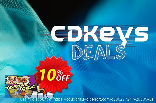 "Spy Fox 3 ""Operation Ozone"" PC discount 10% OFF, 2020 Christmas Day offering sales"