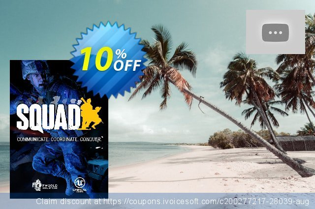 Squad PC discount 10% OFF, 2020 Thanksgiving offering sales