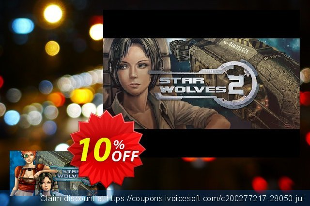 Star Wolves 2 PC discount 10% OFF, 2020 Student deals discount