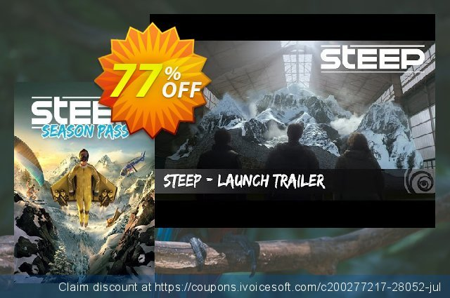 Steep PC Season Pass discount 70% OFF, 2021 Happy New Year offering sales