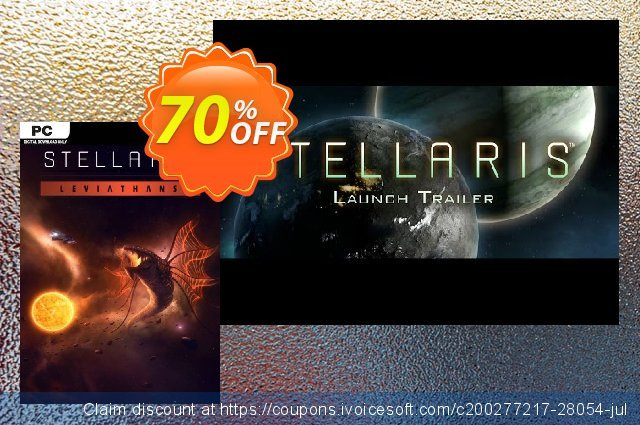 Stellaris: Leviathans Story Pack DLC discount 33% OFF, 2020 Thanksgiving offering sales