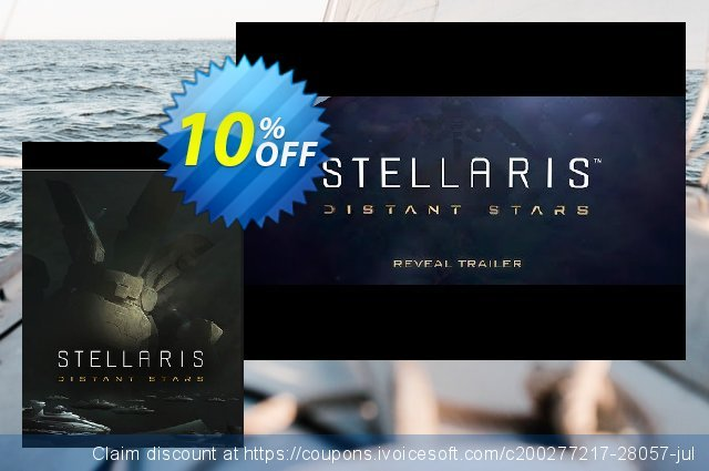 Stellaris PC Distant Stars Story Pack DLC discount 40% OFF, 2020 Thanksgiving offering sales