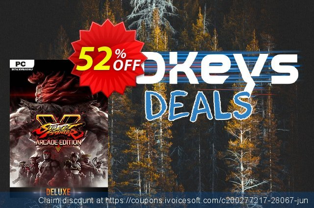 Street Fighter V 5: Arcade Edition Deluxe PC discount 52% OFF, 2020 Thanksgiving Day discount