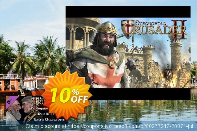 Stronghold Crusader 2 The Emperor and The Hermit PC discount 10% OFF, 2021 New Year offering sales