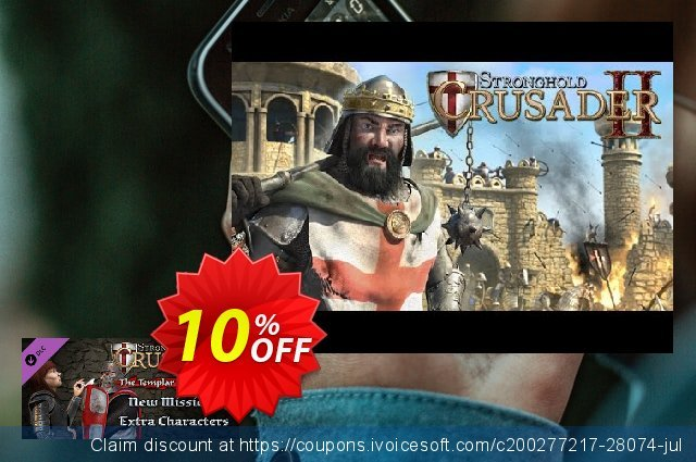 Stronghold Crusader 2 The Templar and The Duke PC discount 10% OFF, 2021 January sales