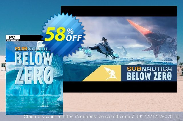 Subnautica Below Zero PC discount 10% OFF, 2021 New Year's Day offering sales