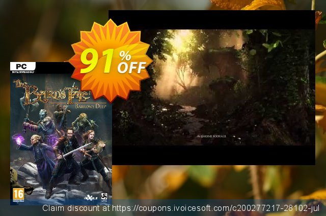 The Bards Tale IV 4 Barrows Deep PC discount 56% OFF, 2020 Thanksgiving sales