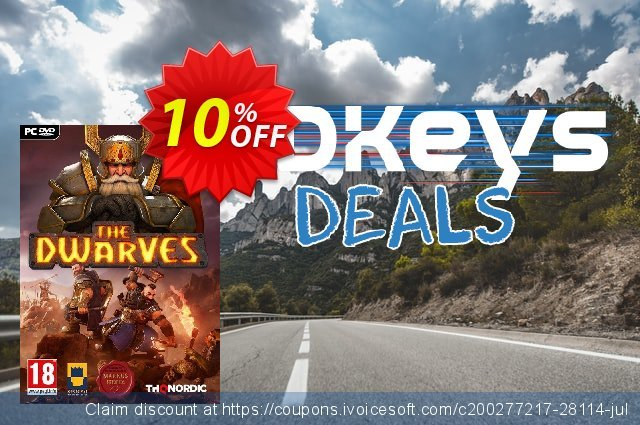 The Dwarves PC discount 10% OFF, 2020 Thanksgiving offering sales