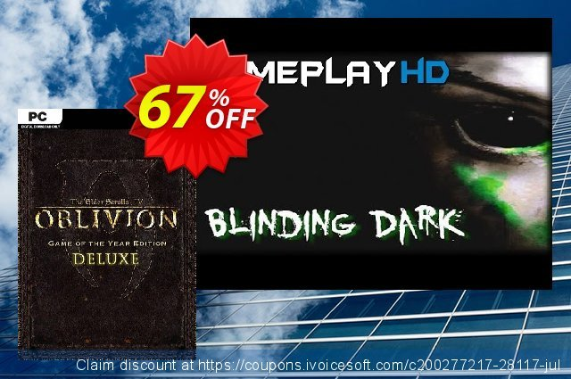 The Elder Scrolls IV 4 Oblivion® Game of the Year Edition Deluxe PC  경이로운   할인  스크린 샷